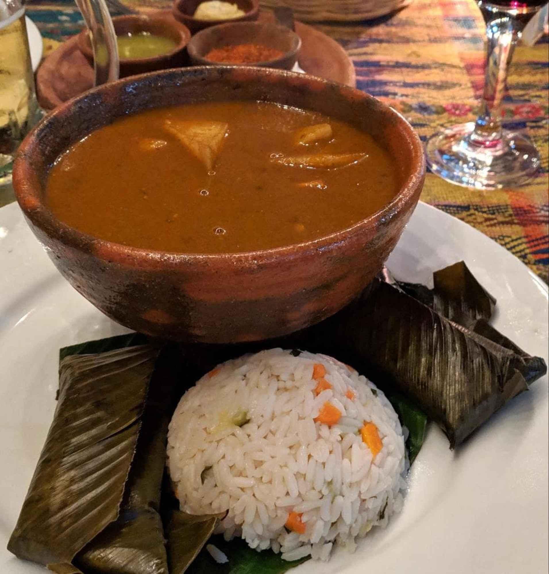 Pepian is informally considered Guatemala's national dish
