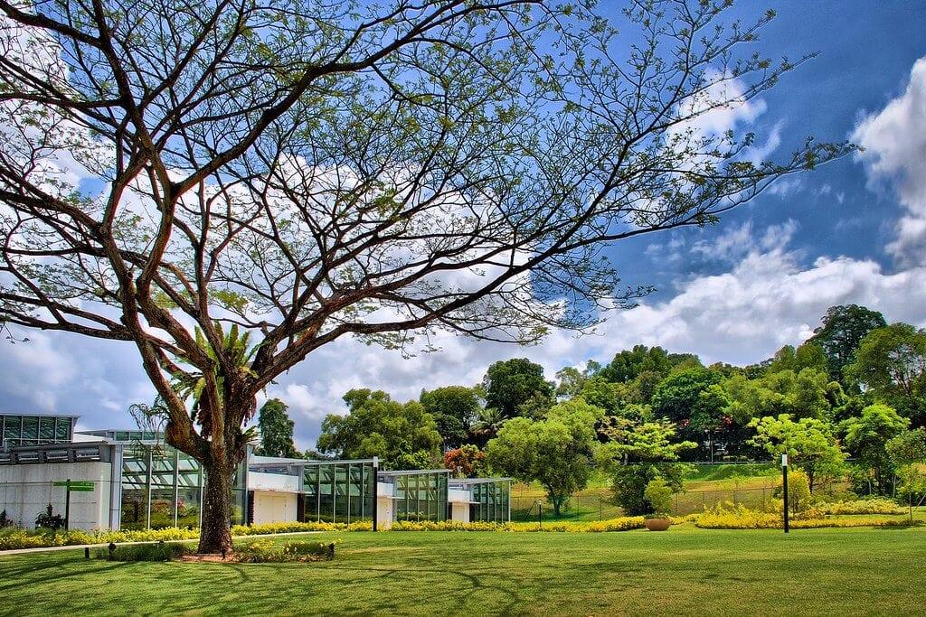 Greenhouses at HortPark