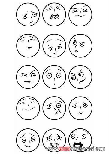 duygular ve yüz ifadeleri