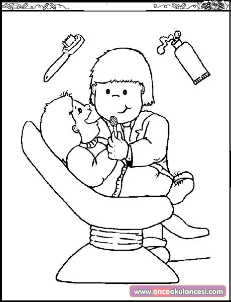 Cabinet Coloring Page