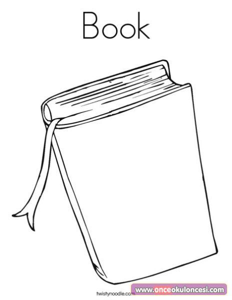 Kitaplarla ilgili Boyama sayfaları