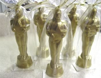 Chocolate Hollywood Award Statue For Sale  Chocolate