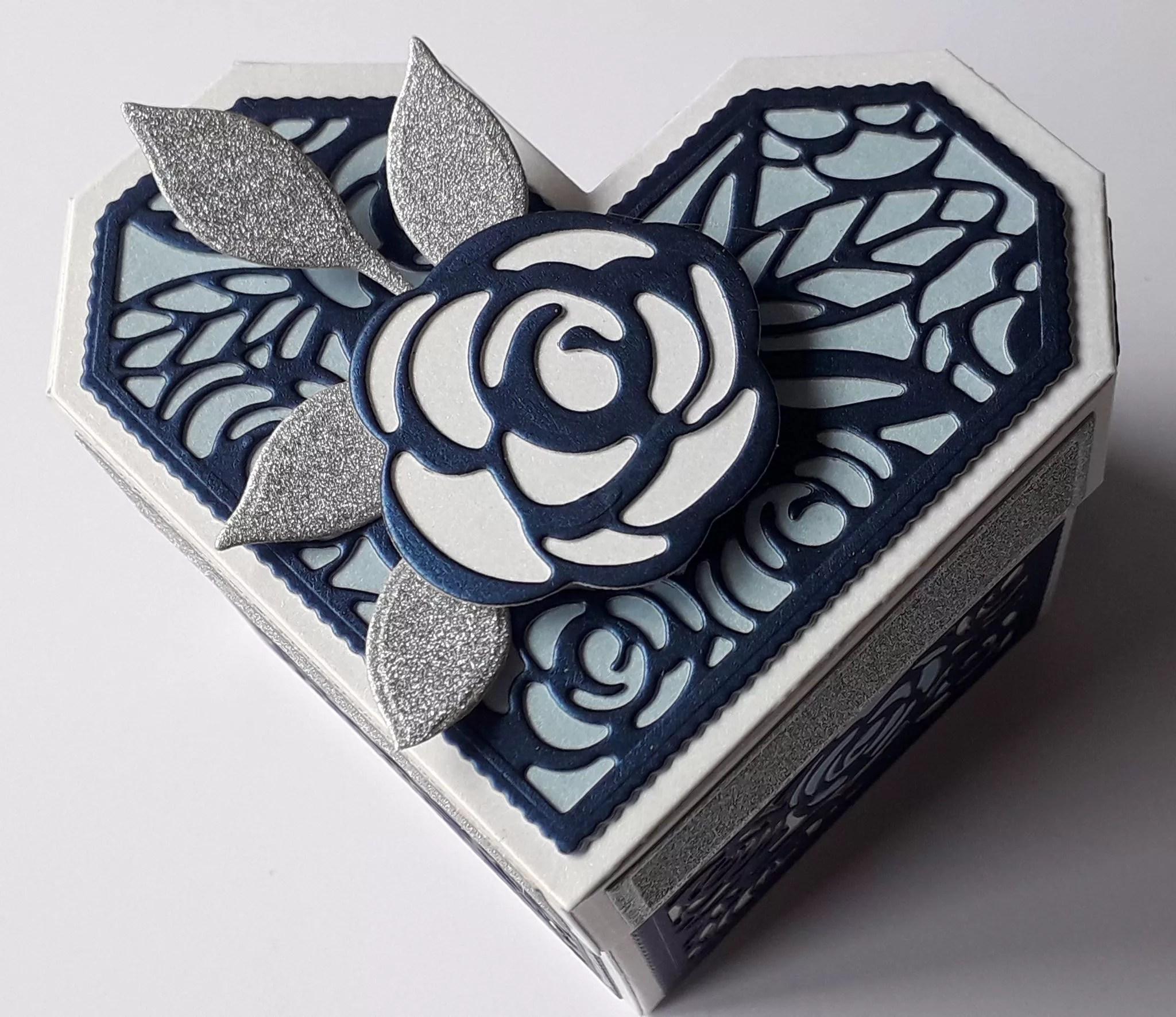Blue Heart Box