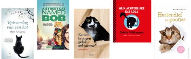 5 boeken over katten