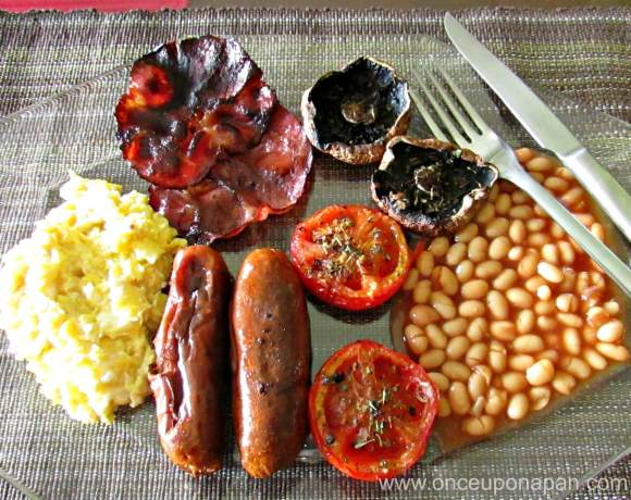 Baked English Breakfast