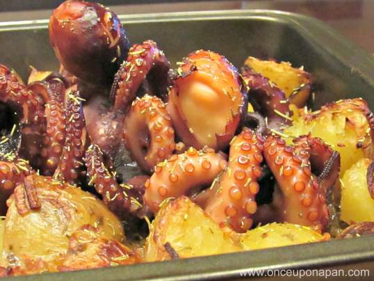 Octopus in the oven