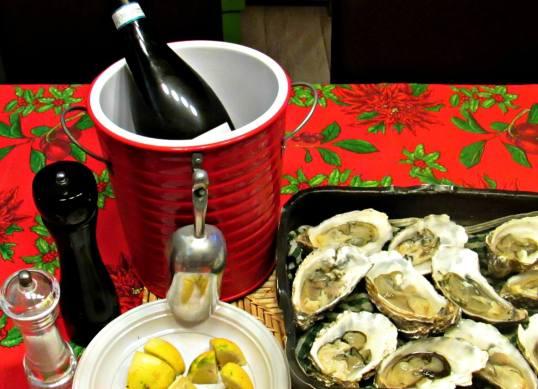 oysters au naturel
