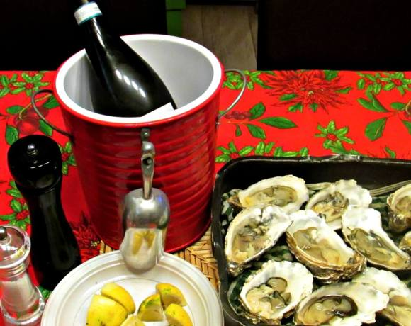 Midnight, oysters au naturel and Prosecco… Welcome 2016!
