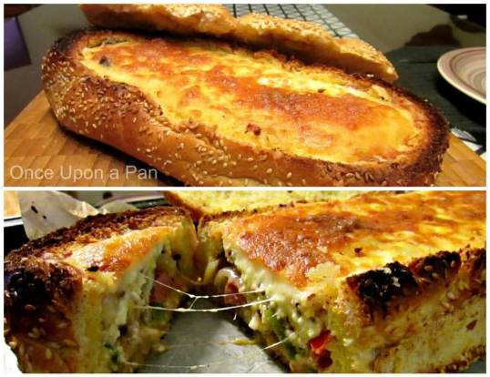 hot-dog-quiche-in-a-loaf
