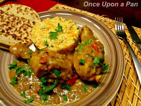 Trinidadian chicken curry