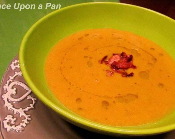 Pumpkin and Chestnut soup