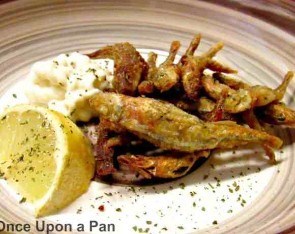 Crispy fried whitebait