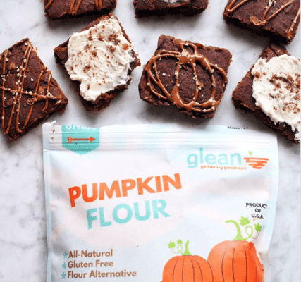 Pumpkin Flour Blondies + Giveaway with Live Glean