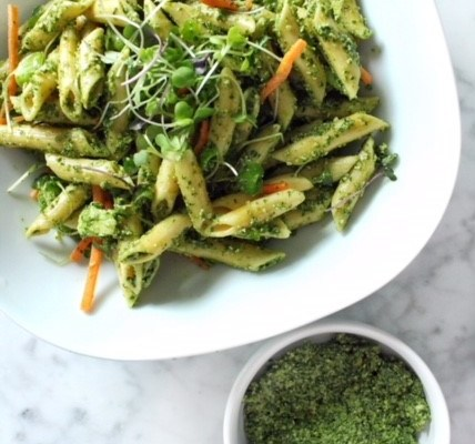 Spicy Kale & Lemon Pesto