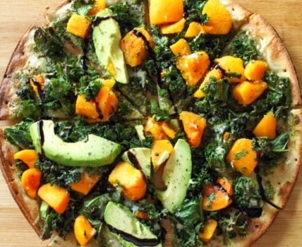 Kale & Butternut Squash Pizza
