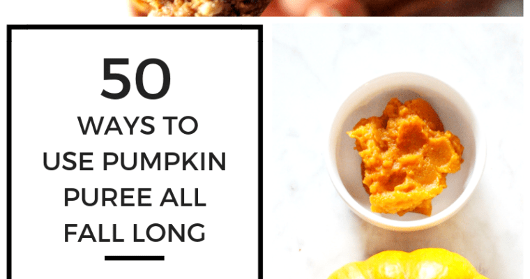 50 Ways to Use Pumpkin Puree You Never Thought Of