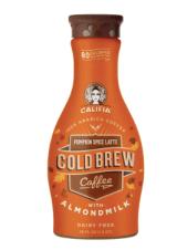 pumpkin spice cold brew coffee