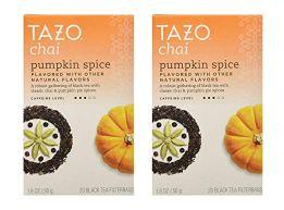 chai pumpkin spice tea