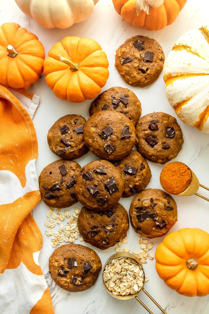 best pumpkin chocolate chip cookie