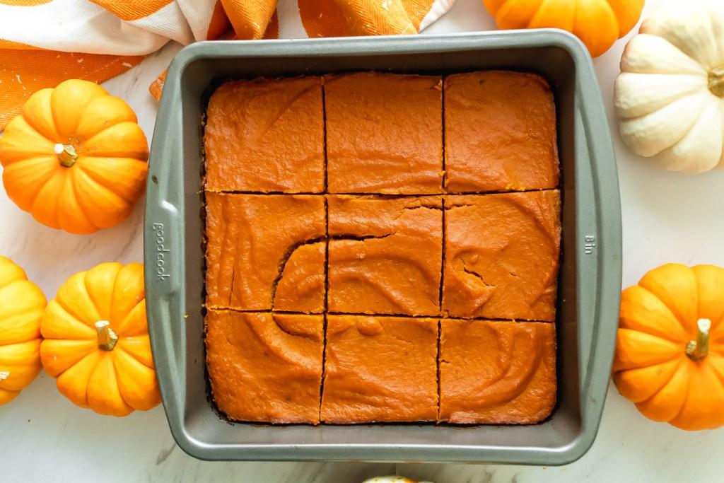 how to make paleo pumpkin pie shortbread bars