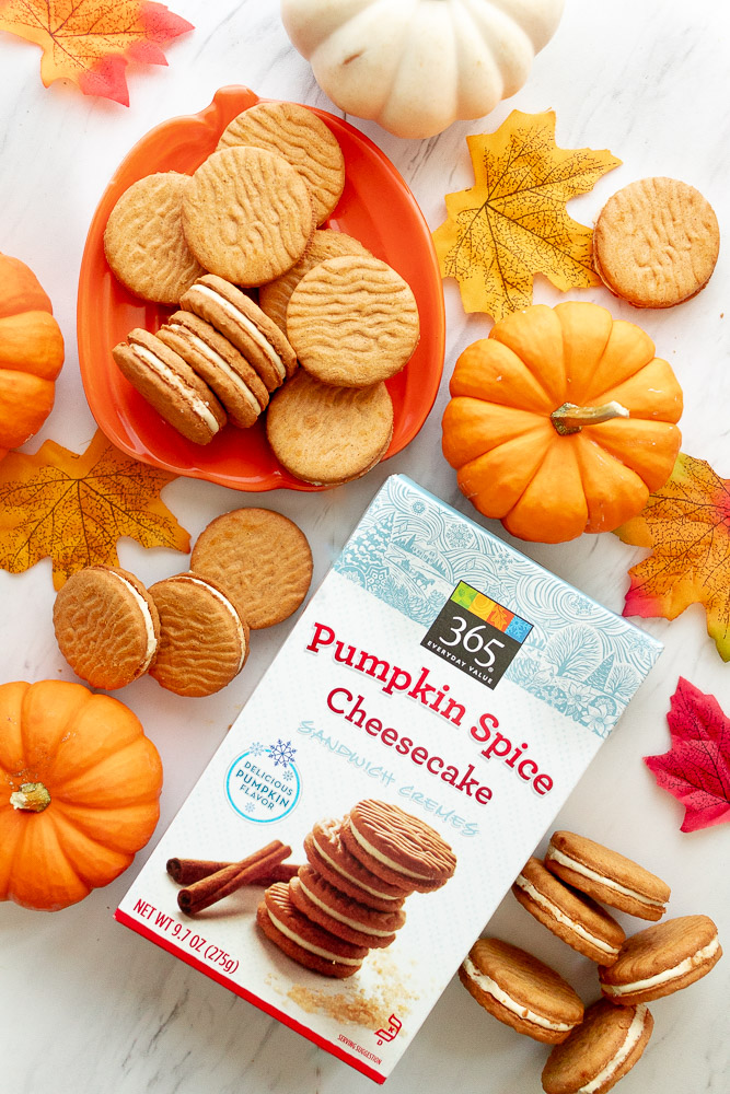 pumpkin creme cookies at whole foods