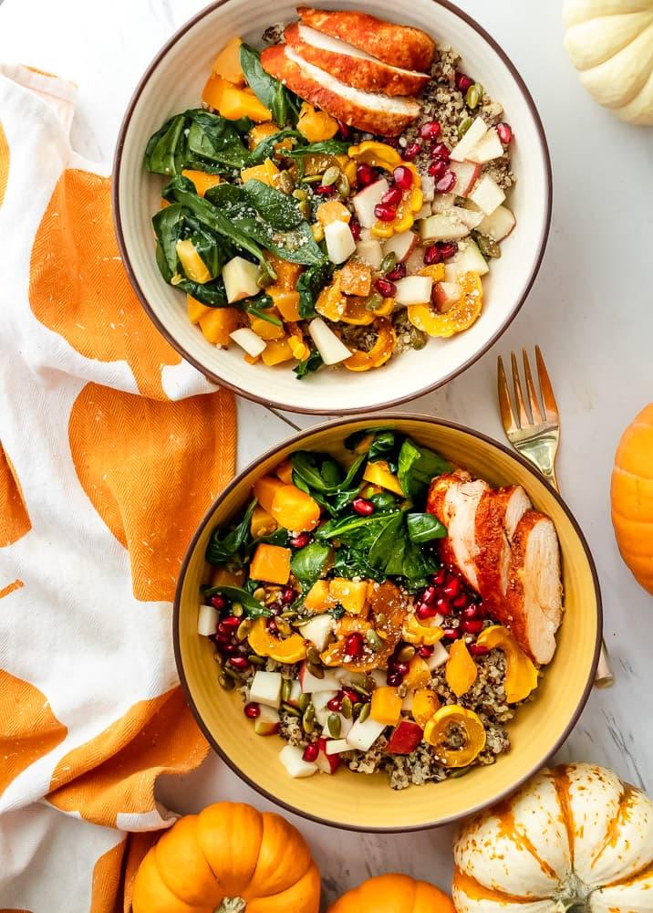 fall bowl recipes