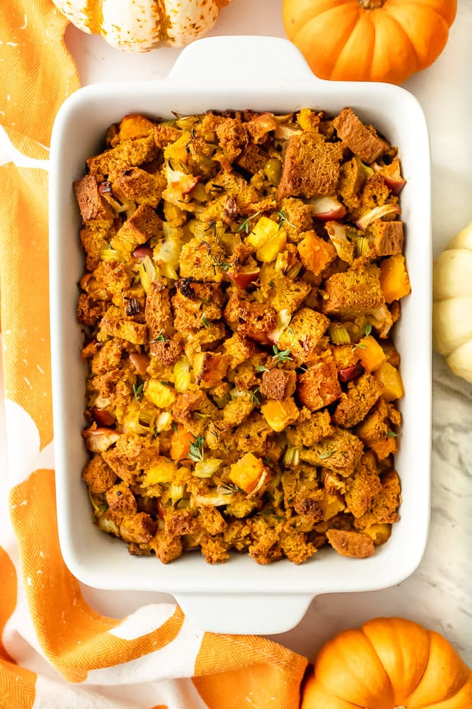 gluten and dairy free pumpkin stuffing