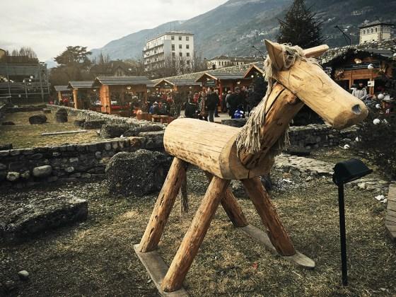 Aosta e i suoi mercatini di Natale!