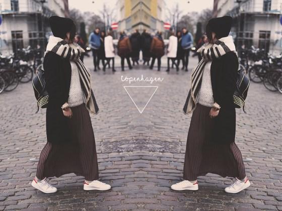 Maxi skirt Stan Smith Look Outfit Copenhagen