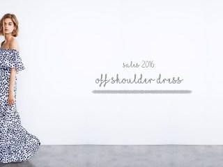 Off shoulder wishlist cosa comprare ai saldi 2016