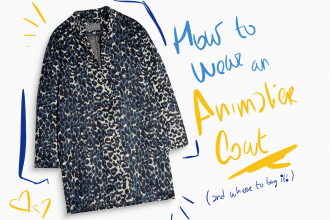 Leo coat animaler how to wear Esprit