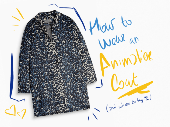 Leo coat animaler how to wear Esprit