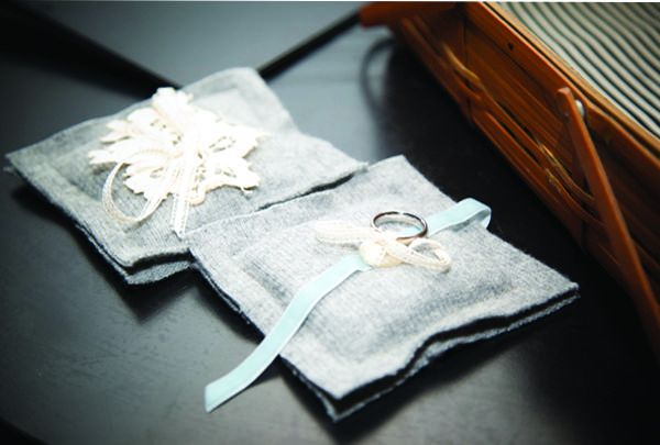 Diy Ring Bearer Pillow Once Wed