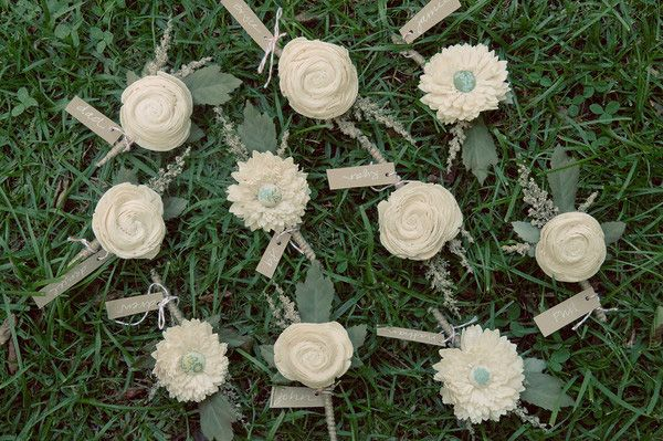 diyweddingboutonnieres  Once Wed