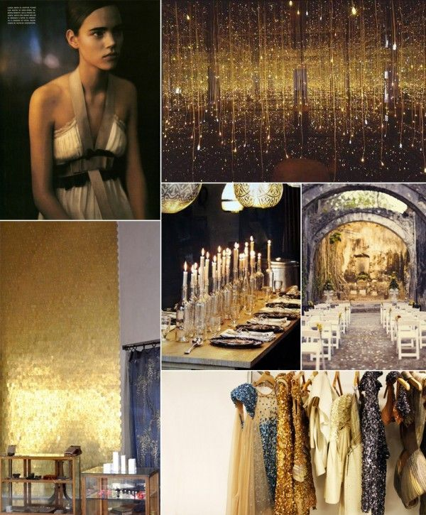 Black and Gold Wedding Ideas  Once Wed