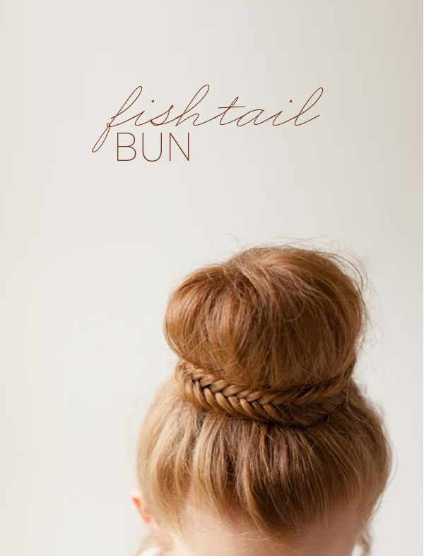 diy-fishtail-bun-wedding-updos