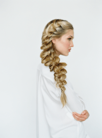 Romantic Side Braid Hair Tutorial | Wedding Hairstyles for ...