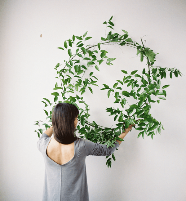 Wedding Decor With Foraged Greenery Once Wed