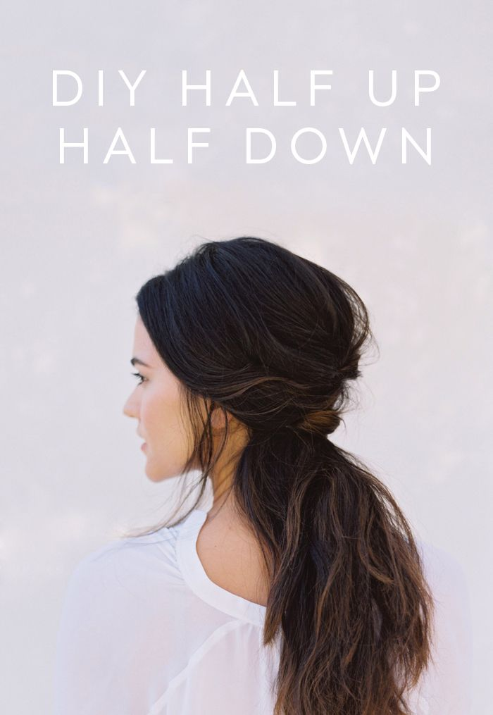 DIY Half Up Half Down Wedding Hair  DIY Weddings  OnceWedcom