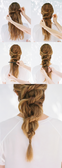 Do It Yourself Hairstyles For Long Hair Of 29 Model Diy