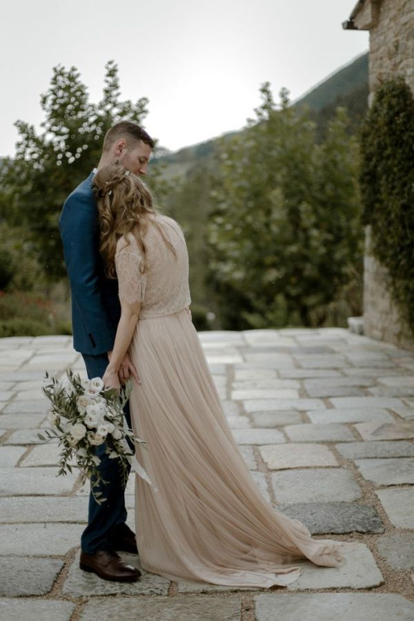 Picturesque Wedding In Umbria Italy Once Wed