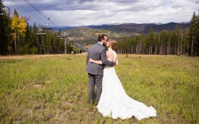 Breckenridge Ski Resort Wedding on Peak 9: Stephanie & Ryan