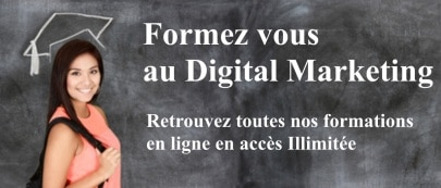Formez vous au Digital Marketing