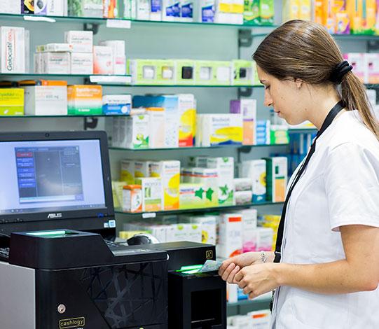 Gaveta Inteligente na Farmácia