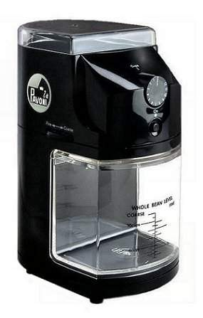 Burr Coffee Grinder Review On La Pavoni