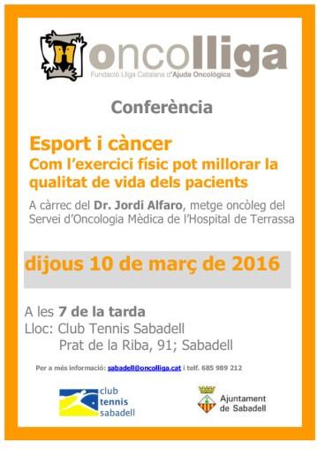 Conferència Dr Jordi Alfaro