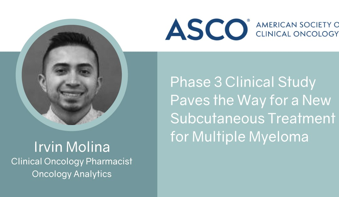 Phase 3 Clinical Study Paves the Way for a New Subcutaneous Treatment for Multiple Myeloma