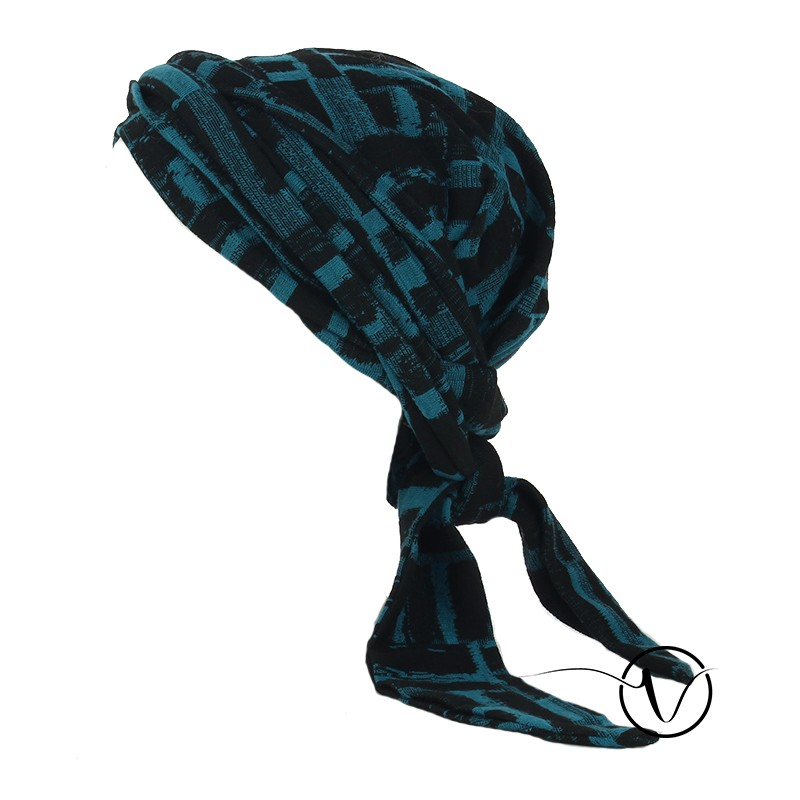 Elegant winter chemo head scarf Estelle