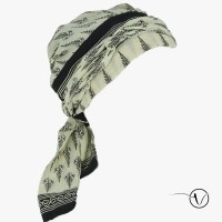 Chemo Head Scarf - Saree Feather | Oncovia