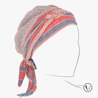 Chemo Head Scarf - Saree Labyrinth| Oncovia